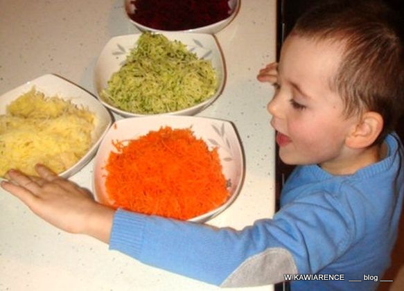 placuszki warzywne dla dzieci