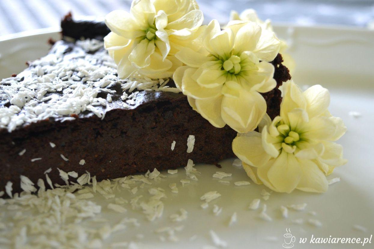 fit czekoladowe brownie z kaszy jaglanej
