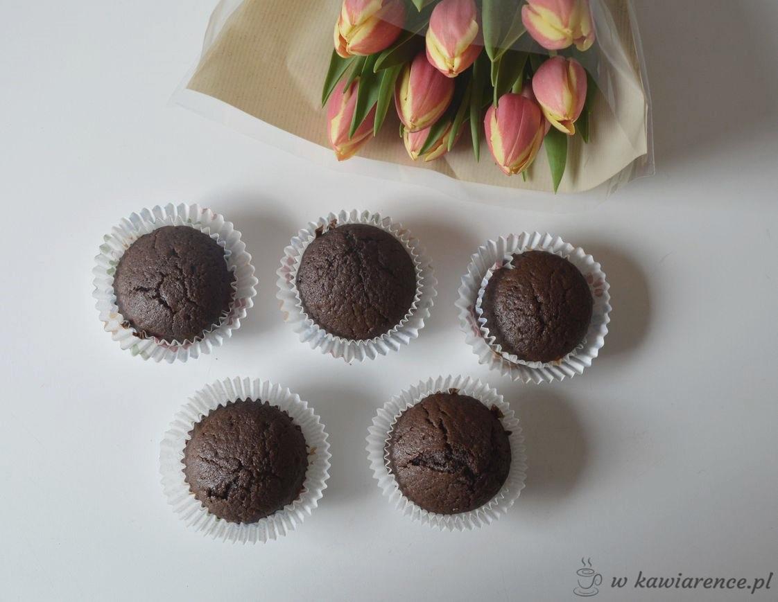czekoladowe babeczki na ostatnią chwilę