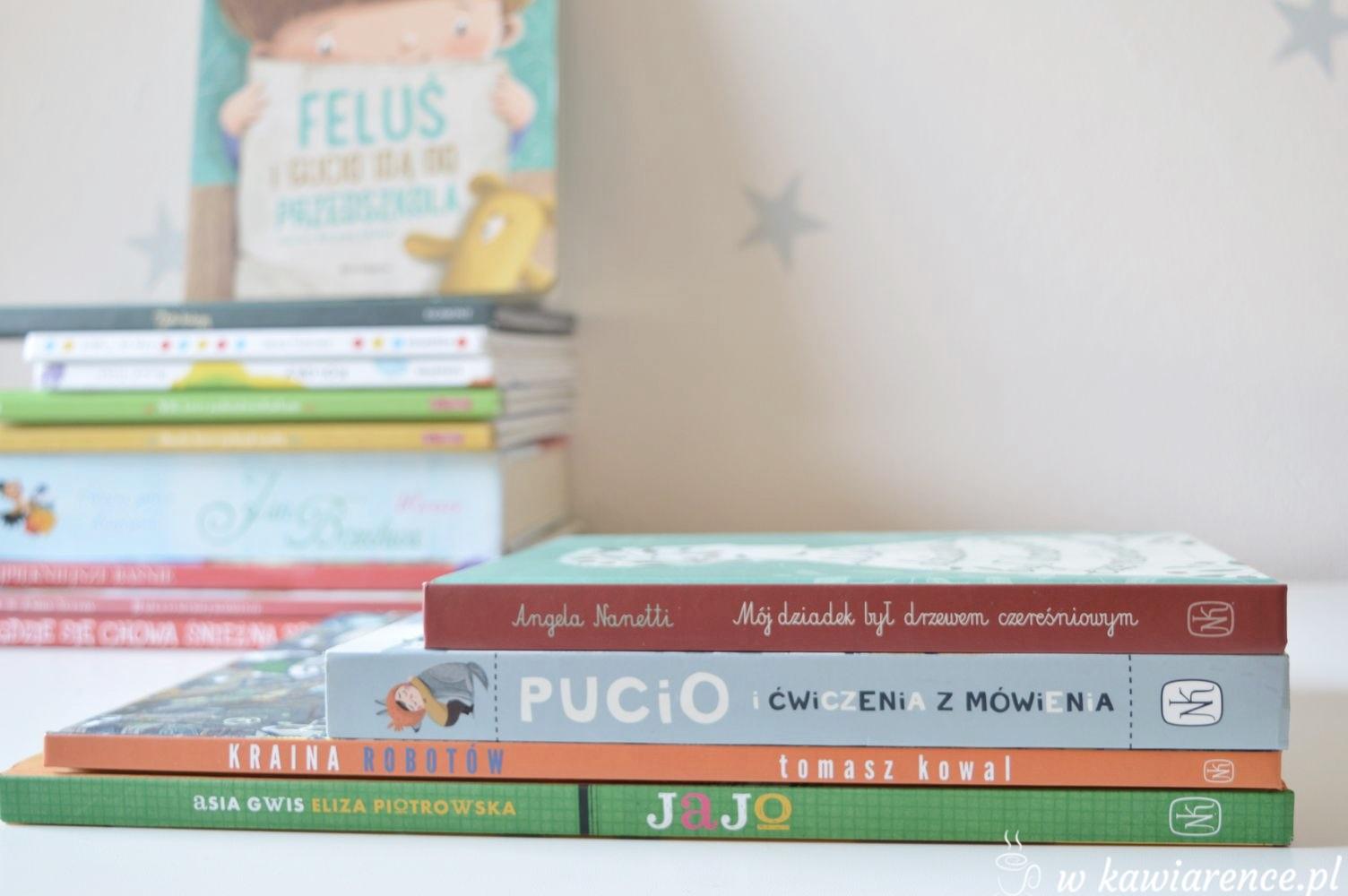 ksiażeczki dla dzieci marzec nasza księgarnia