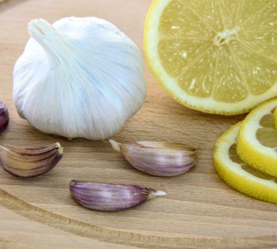 syrop z czosnku i cytryny