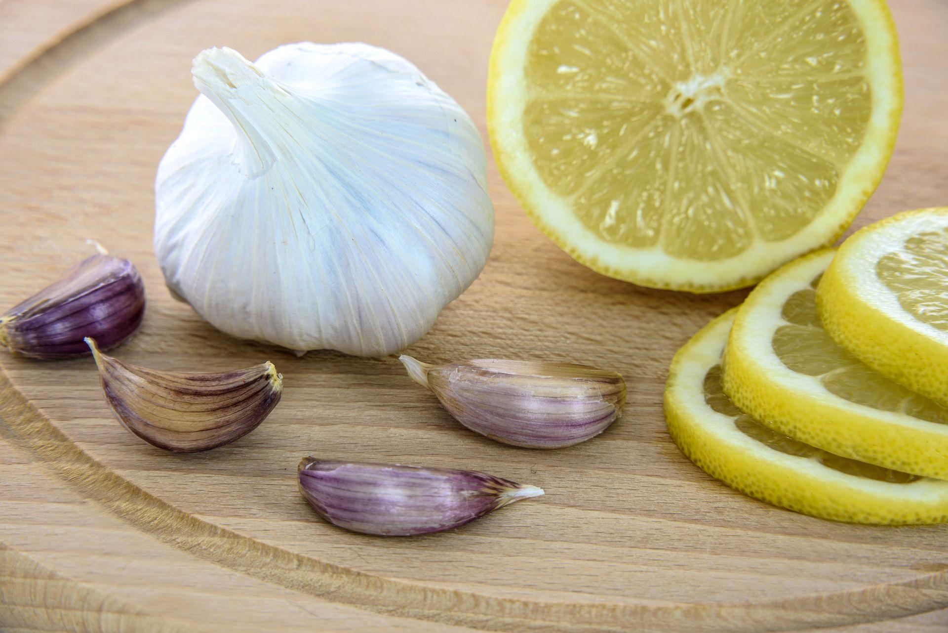 syrop z czosnku i cytryny Domowy syrop na wzmocnienie dla dzieci