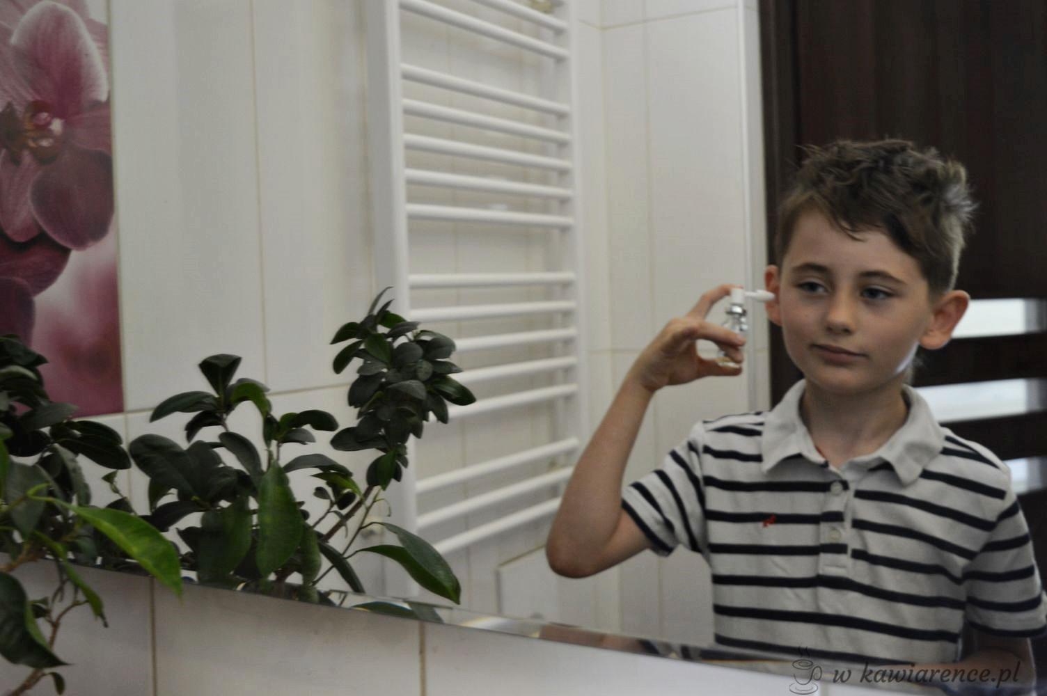 czyszczenie uszu dziecka vaxol