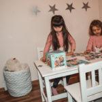 krzesełka i stolik dla dziecka 3 5 lat pinio-