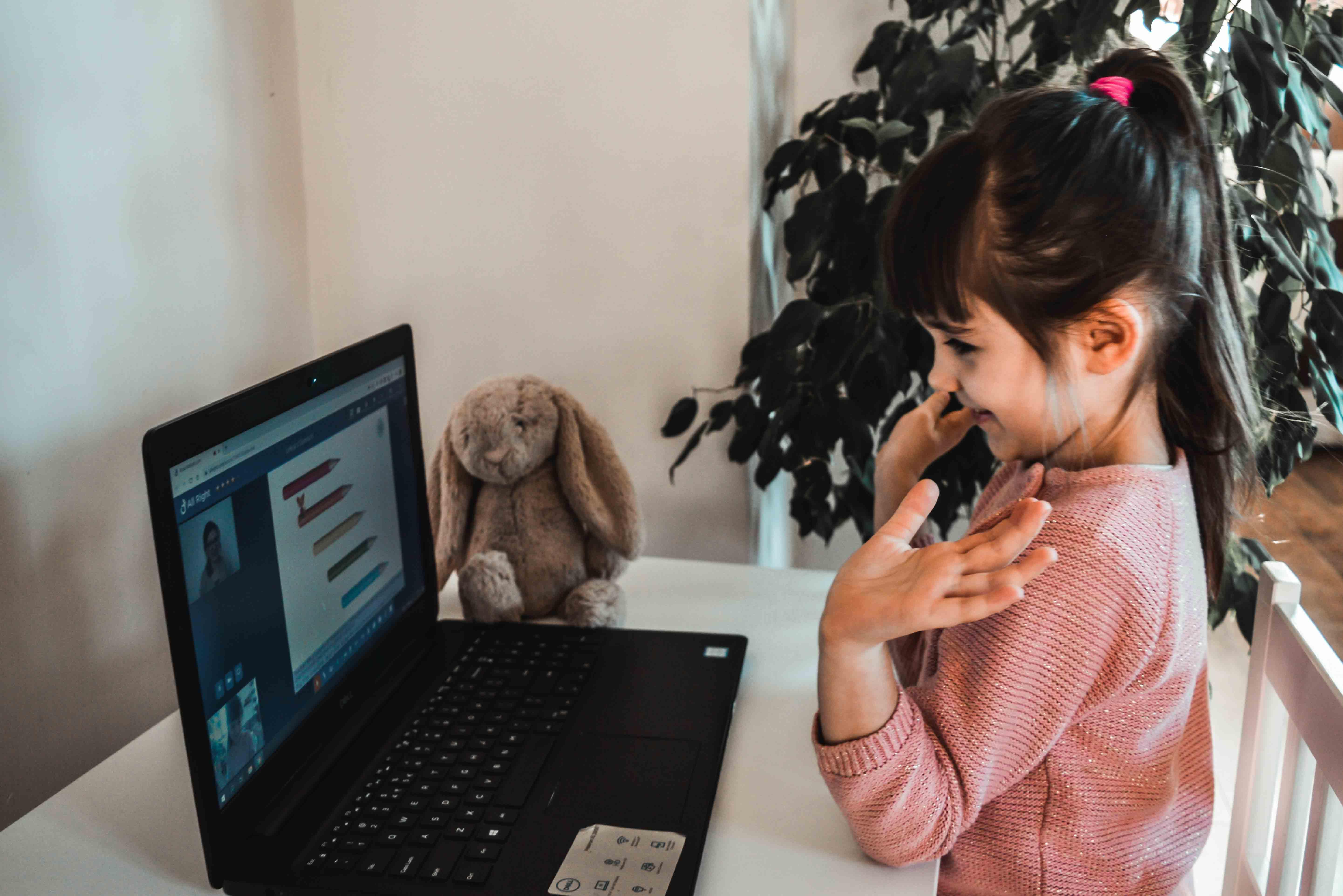 nauka angielskiego dla dzieci w domu online