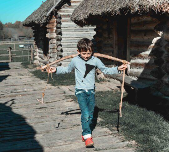 podkarpacie atrakcje dla dzieci Karpacka Troja skansen Jasło