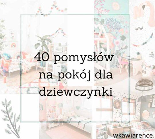 Kolorowy pokój dla dziewczynki - pomysły na mały pokój dla dziewczynek