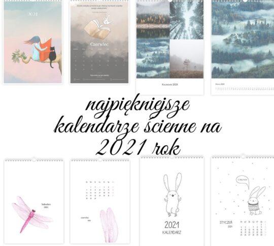 kalendarz ścienny na 2021 rok