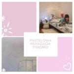 pastelowy pokoik dla 2 dziewczynek