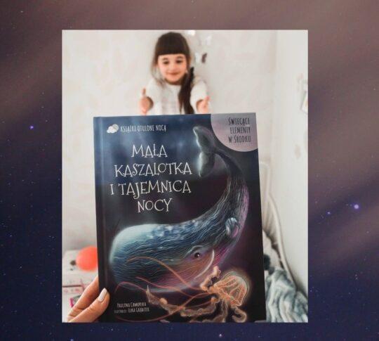 Mała kaszalotka i tajemnica nocy - książka otulona nocą